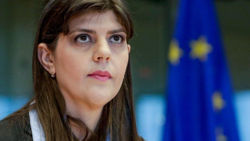 Laura Kövesi, primera jefa de la Fiscalía Europea