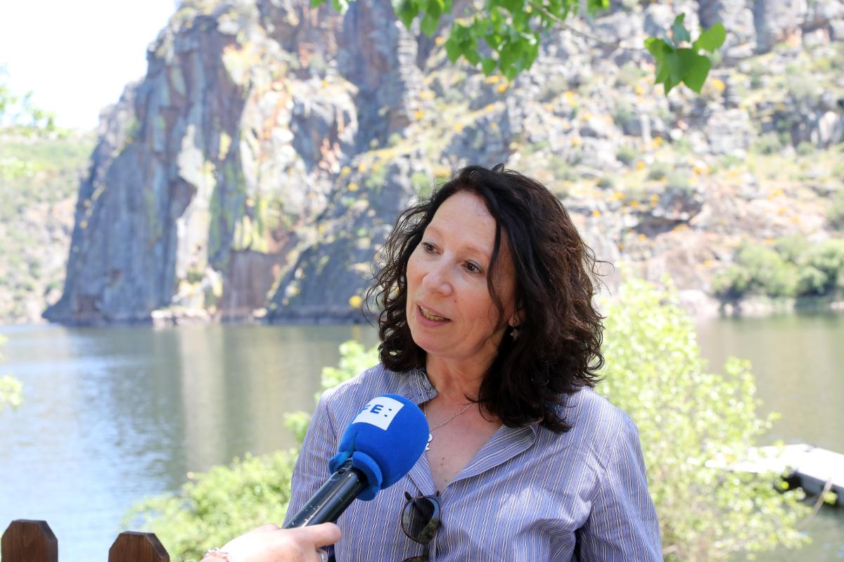 Ana Martínez, directora del Parque Natural Arribes del Duero.