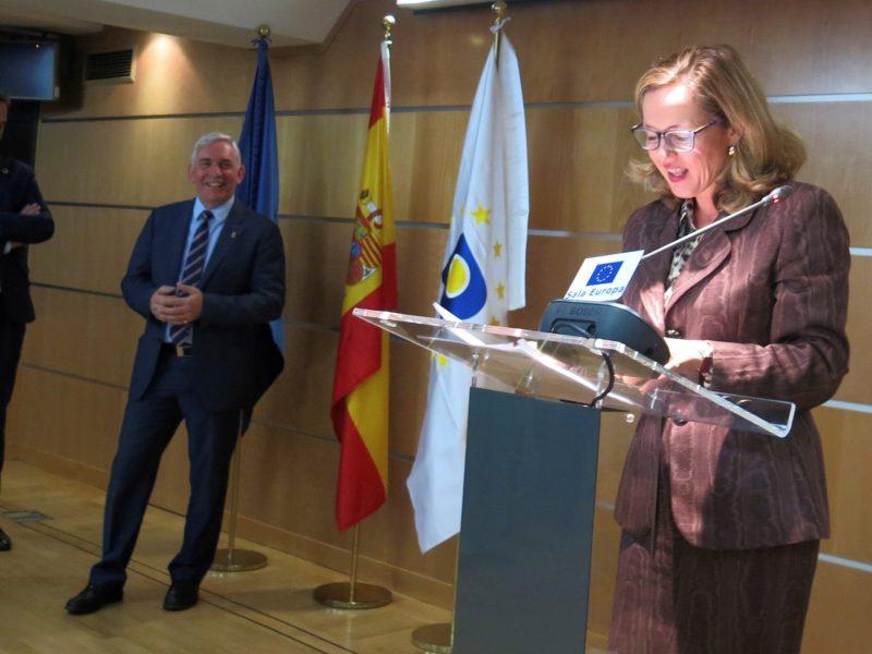 Calviño: España debe mejorar su posición en el registro de marcas y diseños