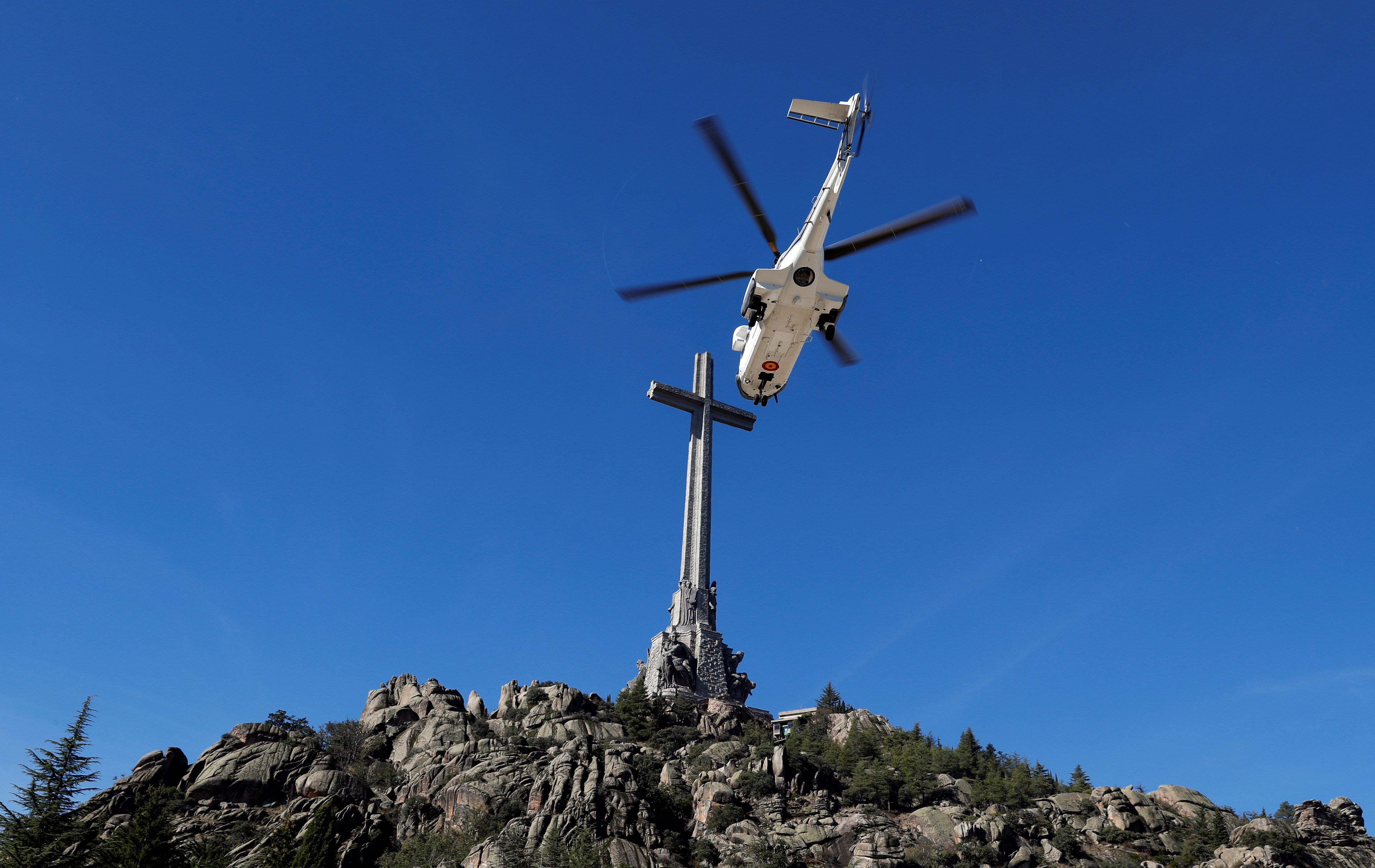 Los restos de Franco se trasladan hoy del Valle de los Caídos a Mingorrubio