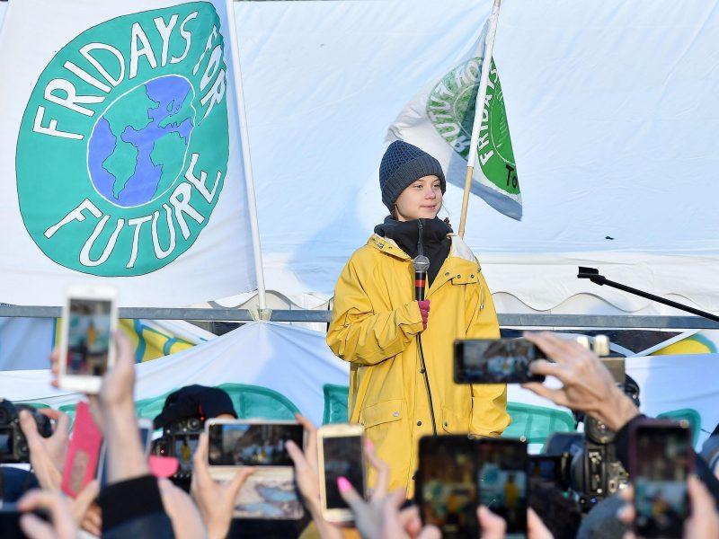 Greta Thunberg en Turin