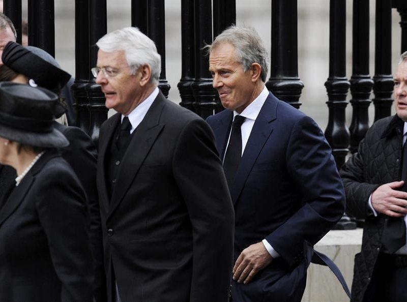Blair y Major